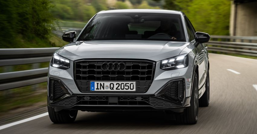 MEGA GALLERY: 2021 Audi Q2 facelift in greater detail Image #1197621