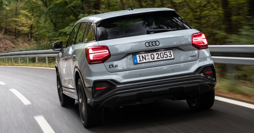 MEGA GALLERY: 2021 Audi Q2 facelift in greater detail Image #1197631