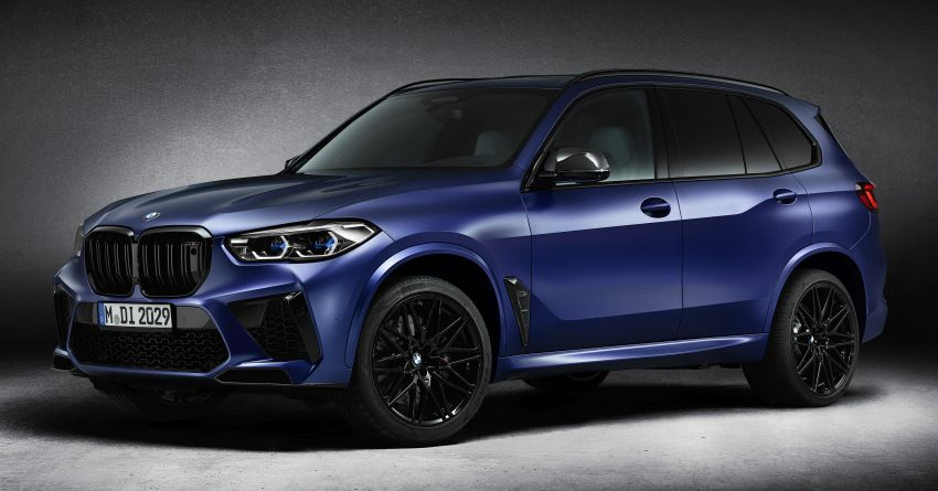 2021 BMW X5 M, X6 M Competition First Edition debut – 4.4L biturbo V8 with 625 hp, extra kit; 250 units each Image #1195381