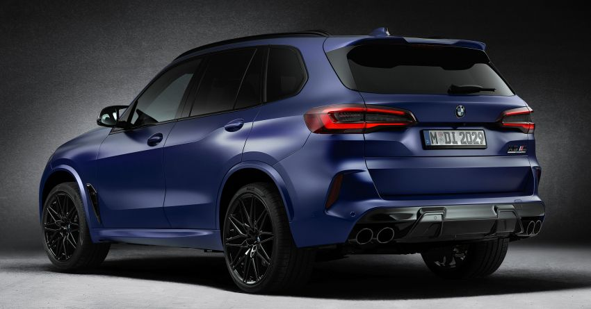 2021 BMW X5 M, X6 M Competition First Edition debut – 4.4L biturbo V8 with 625 hp, extra kit; 250 units each Image #1195382