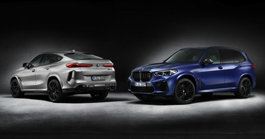2021 BMW X5 M, X6 M Competition First Edition debut – 4.4L biturbo V8 with 625 hp, extra kit; 250 units each Image #1195384