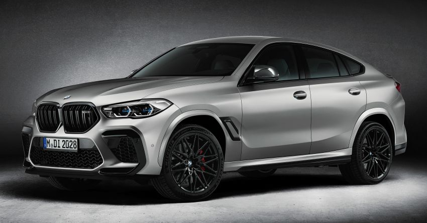 2021 BMW X5 M, X6 M Competition First Edition debut – 4.4L biturbo V8 with 625 hp, extra kit; 250 units each Image #1195385