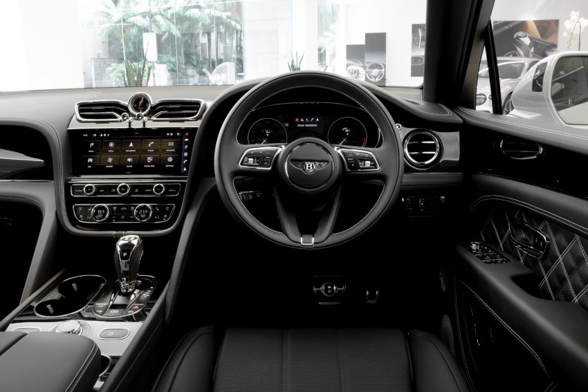 Bentley Bentayga facelift now available in Malaysia – 550 PS V8; from RM744k; First Edition from RM935k Image #1188142