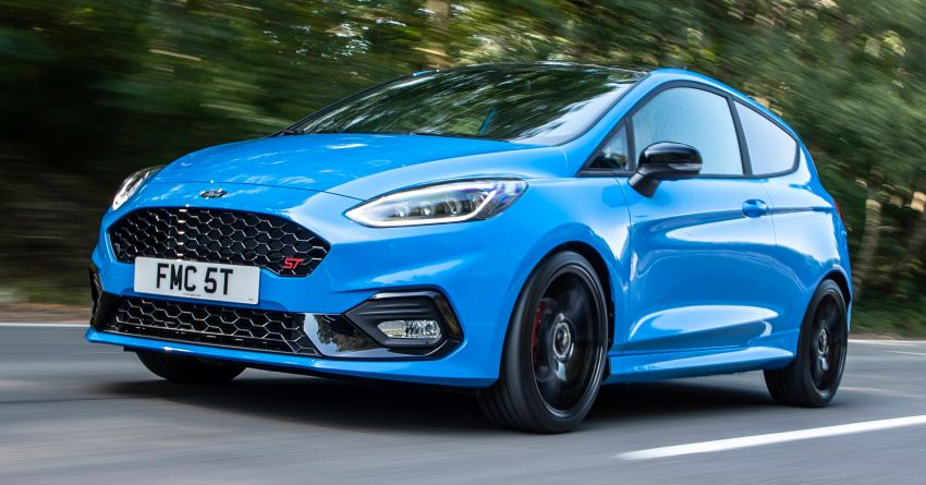 2021 ford fiesta st edition - 500 units, europe only 2021
