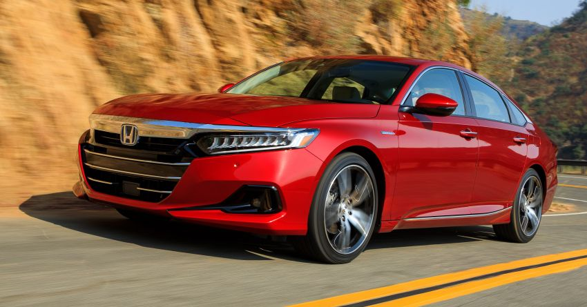 2021 Honda Accord facelift debuts in the United States with updated styling and revised list of equipment Image #1191510