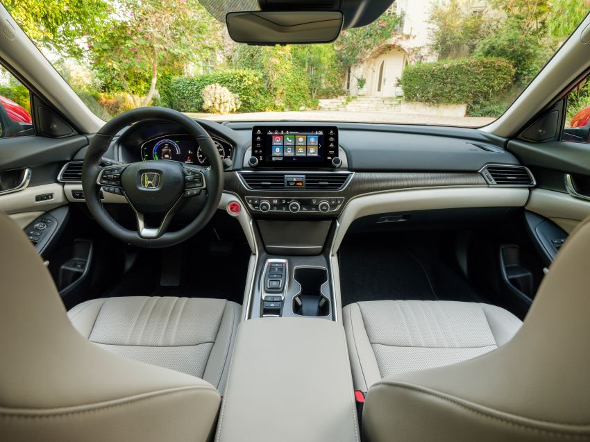 2021 Honda Accord facelift debuts in the United States with updated styling and revised list of equipment Image #1191522