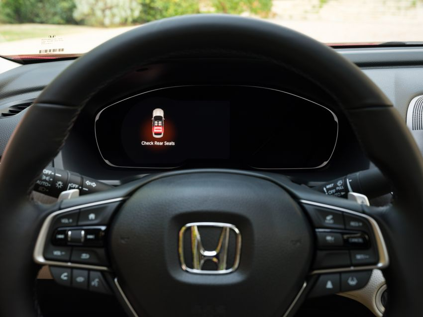 2021 Honda Accord facelift debuts in the United States with updated styling and revised list of equipment Image #1191524