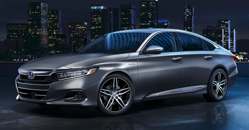 2021 Honda Accord facelift debuts in the United States with updated styling and revised list of equipment Image #1191528