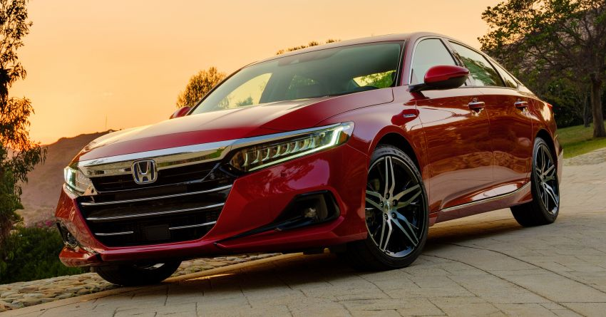 2021 Honda Accord facelift debuts in the United States with updated styling and revised list of equipment Image #1191511