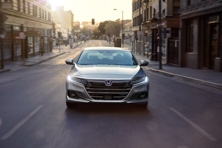 2021 Honda Accord facelift debuts in the United States with updated styling and revised list of equipment Image #1191529