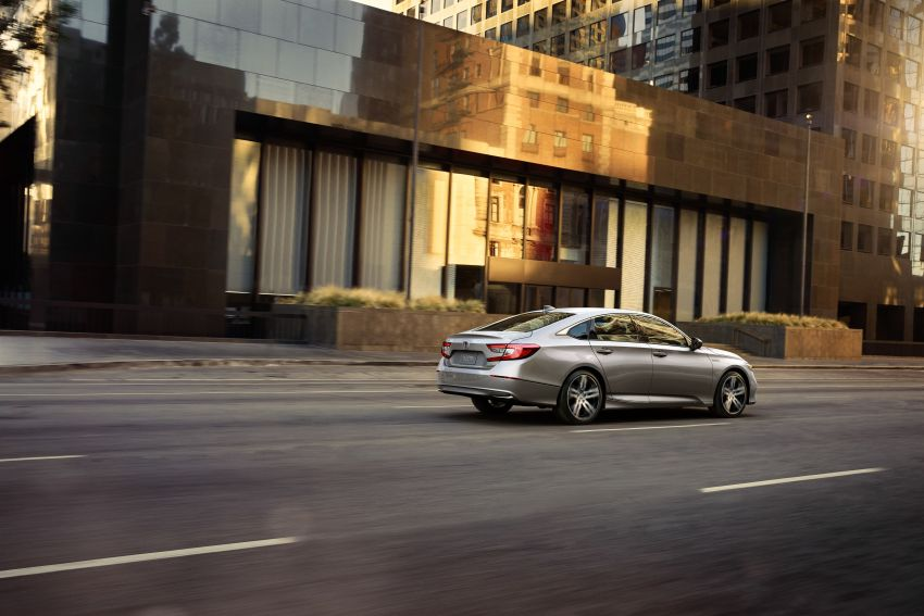 2021 Honda Accord facelift debuts in the United States with updated styling and revised list of equipment Image #1191530