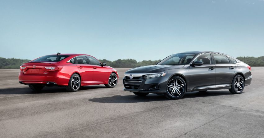 2021 Honda Accord facelift debuts in the United States with updated styling and revised list of equipment Image #1191531