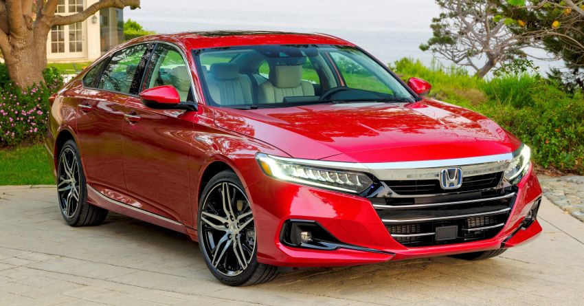 2021 Honda Accord facelift debuts in the United States with updated styling and revised list of equipment Image #1191512