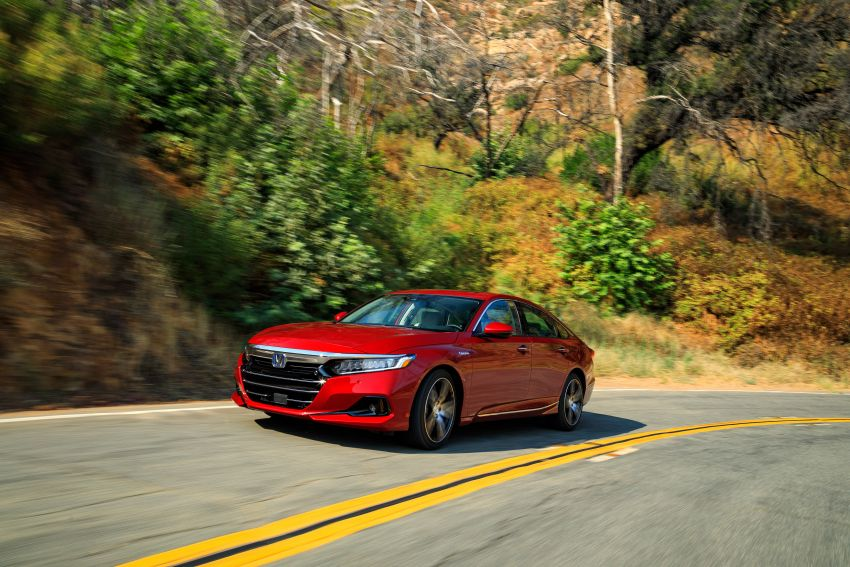 2021 Honda Accord facelift debuts in the United States with updated styling and revised list of equipment Image #1191516