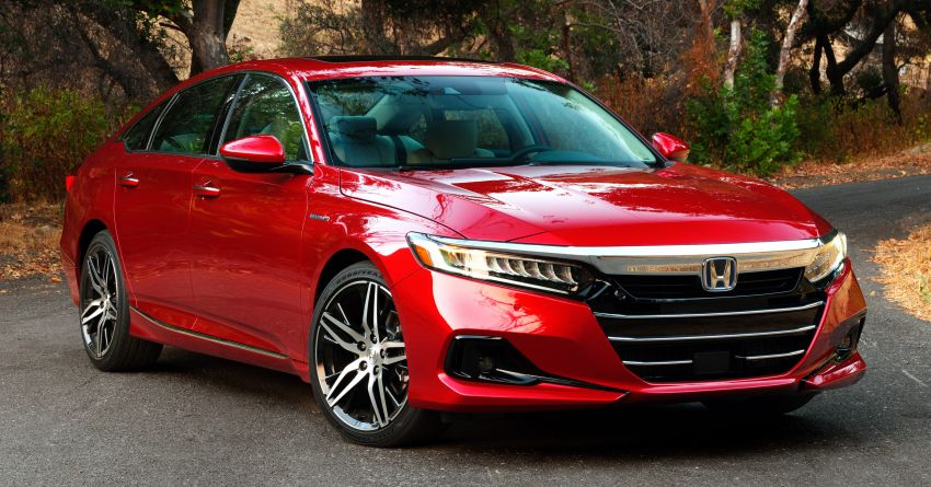 2021 Honda Accord facelift debuts in the United States with updated styling and revised list of equipment Image #1191517