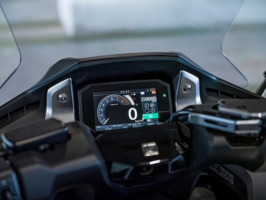 2021 Honda Forza 750 launched – 745 cc, torque control, dual clutch transmission six-speed gearbox Image #1193543