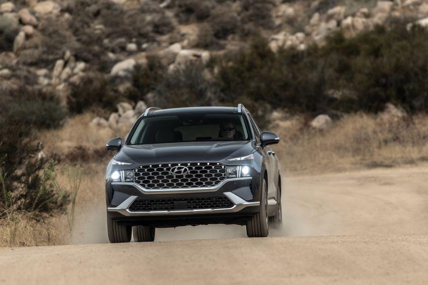2021 Hyundai Santa Fe facelift debuts in US – 191 hp 2.5L GDI and 277 hp T-GDI, 225 hp 1.6L turbo hybrid Image #1191762