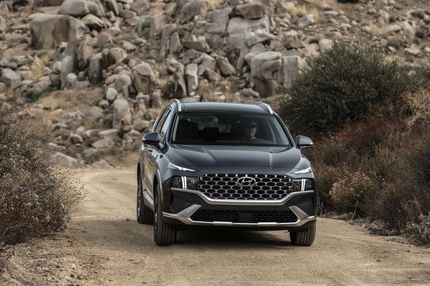2021 Hyundai Santa Fe facelift debuts in US – 191 hp 2.5L GDI and 277 hp T-GDI, 225 hp 1.6L turbo hybrid Image #1191824