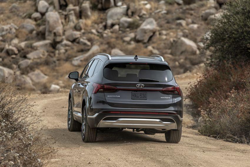 2021 Hyundai Santa Fe facelift debuts in US – 191 hp 2.5L GDI and 277 hp T-GDI, 225 hp 1.6L turbo hybrid Image #1191830