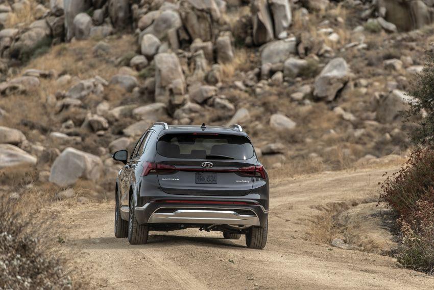 2021 Hyundai Santa Fe facelift debuts in US – 191 hp 2.5L GDI and 277 hp T-GDI, 225 hp 1.6L turbo hybrid Image #1191836