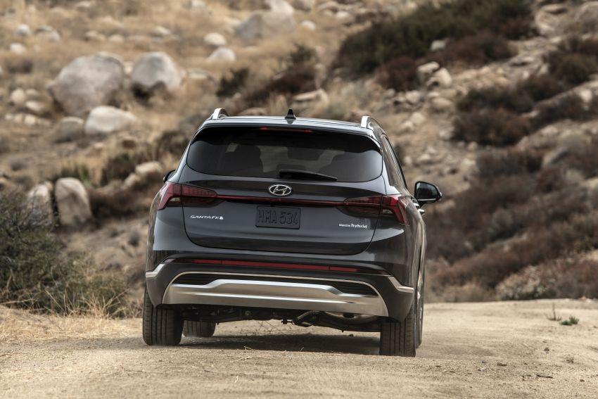 2021 Hyundai Santa Fe facelift debuts in US – 191 hp 2.5L GDI and 277 hp T-GDI, 225 hp 1.6L turbo hybrid Image #1191841