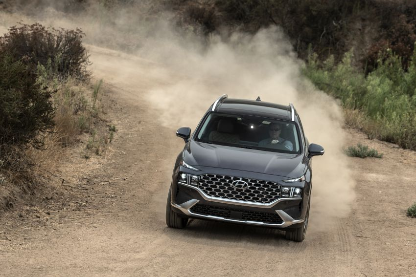 2021 Hyundai Santa Fe facelift debuts in US – 191 hp 2.5L GDI and 277 hp T-GDI, 225 hp 1.6L turbo hybrid Image #1191765