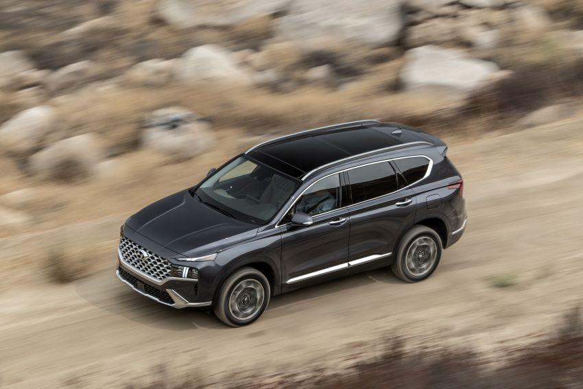 2021 Hyundai Santa Fe facelift debuts in US – 191 hp 2.5L GDI and 277 hp T-GDI, 225 hp 1.6L turbo hybrid Image #1191870
