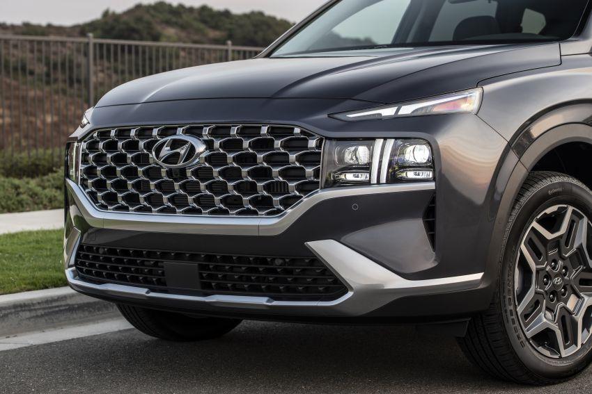 2021 Hyundai Santa Fe facelift debuts in US – 191 hp 2.5L GDI and 277 hp T-GDI, 225 hp 1.6L turbo hybrid Image #1191922