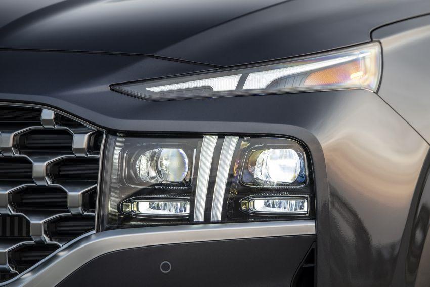 2021 Hyundai Santa Fe facelift debuts in US – 191 hp 2.5L GDI and 277 hp T-GDI, 225 hp 1.6L turbo hybrid Image #1191925