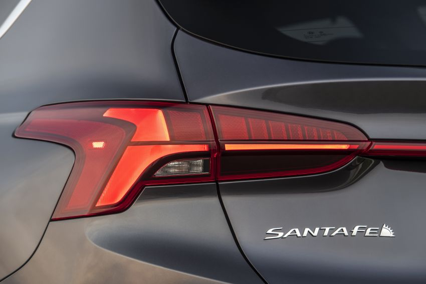 2021 Hyundai Santa Fe facelift debuts in US – 191 hp 2.5L GDI and 277 hp T-GDI, 225 hp 1.6L turbo hybrid Image #1191966