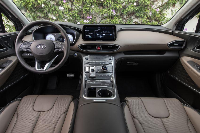 2021 Hyundai Santa Fe facelift debuts in US – 191 hp 2.5L GDI and 277 hp T-GDI, 225 hp 1.6L turbo hybrid Image #1192004