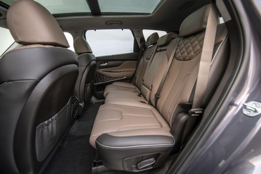 2021 Hyundai Santa Fe facelift debuts in US – 191 hp 2.5L GDI and 277 hp T-GDI, 225 hp 1.6L turbo hybrid Image #1192048