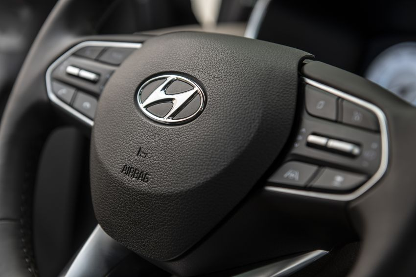 2021 Hyundai Santa Fe facelift debuts in US – 191 hp 2.5L GDI and 277 hp T-GDI, 225 hp 1.6L turbo hybrid Image #1192052