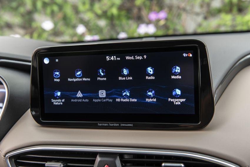2021 Hyundai Santa Fe facelift debuts in US – 191 hp 2.5L GDI and 277 hp T-GDI, 225 hp 1.6L turbo hybrid Image #1192056