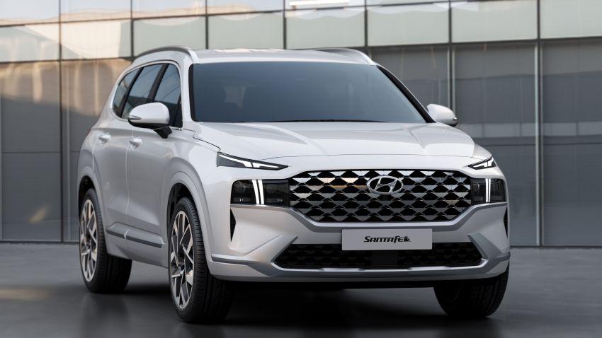 2021 Hyundai Santa Fe facelift debuts in US – 191 hp 2.5L GDI and 277 hp T-GDI, 225 hp 1.6L turbo hybrid Image #1192081