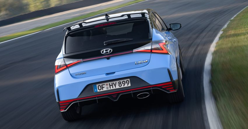 2021 Hyundai i20 N debuts – 1.6L T-GDi, 204 PS, 275 Nm; 6-speed manual with Launch Control & rev match Image #1195964