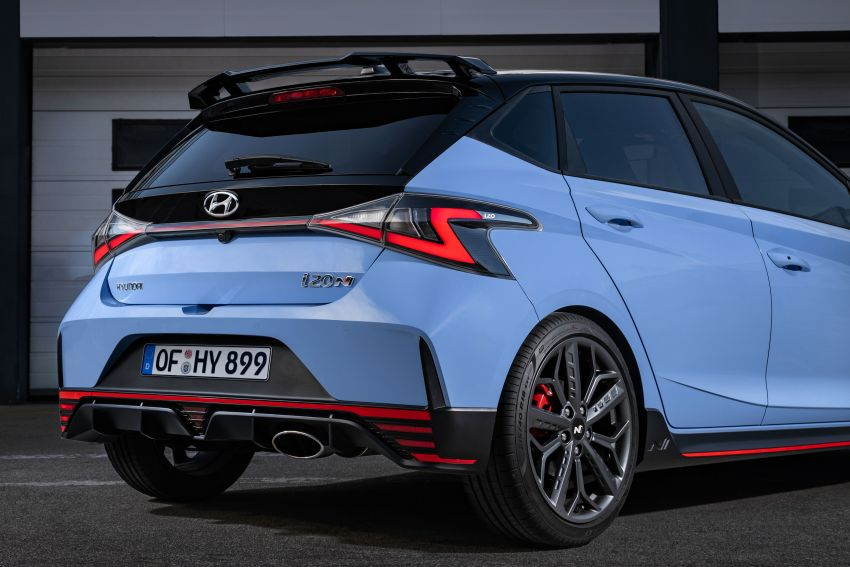 2021 Hyundai i20 N debuts – 1.6L T-GDi, 204 PS, 275 Nm; 6-speed manual with Launch Control & rev match Image #1195984