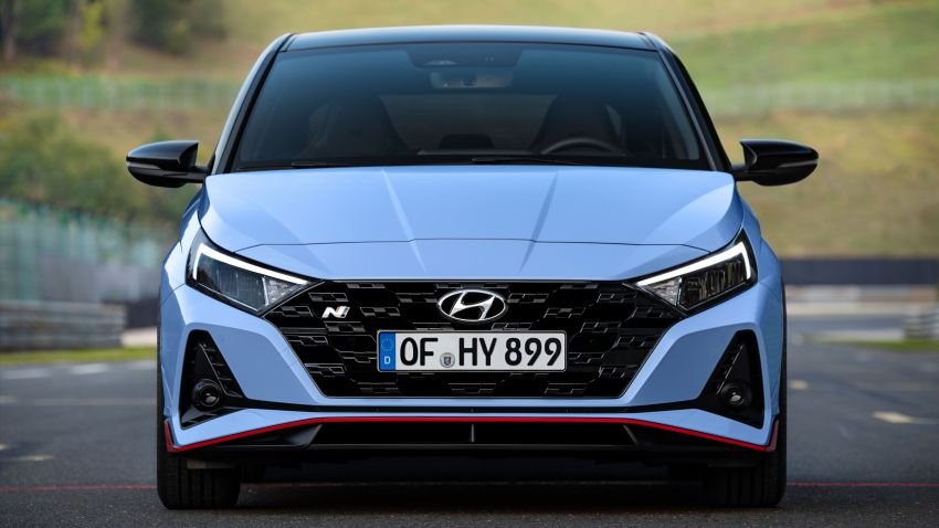 2021 Hyundai i20 N debuts – 1.6L T-GDi, 204 PS, 275 Nm; 6-speed manual with Launch Control & rev match Image #1195987
