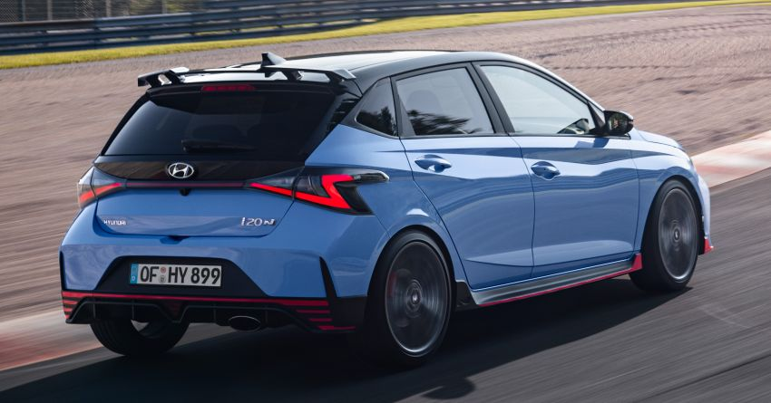2021 Hyundai i20 N debuts – 1.6L T-GDi, 204 PS, 275 Nm; 6-speed manual with Launch Control & rev match Image #1195966