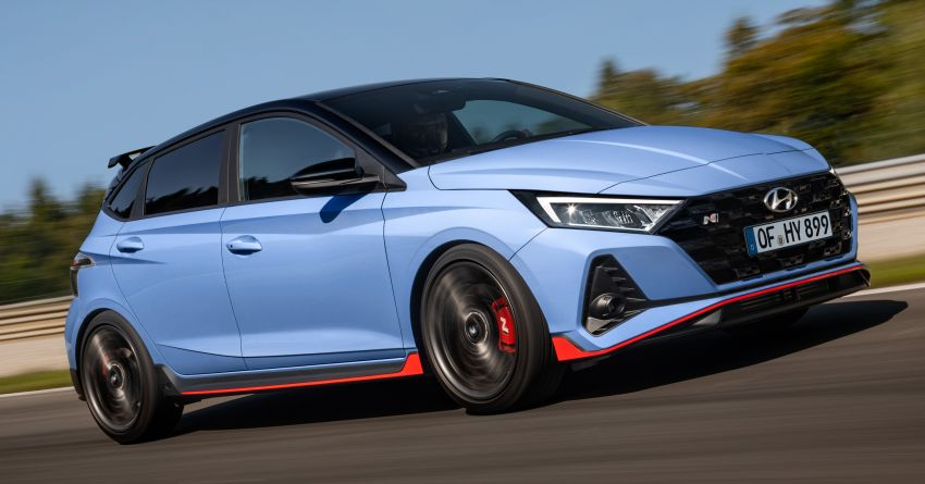 2021 Hyundai i20 N debuts – 1.6L T-GDi, 204 PS, 275 Nm; 6-speed manual with Launch Control & rev match Image #1195967