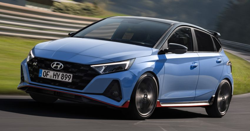 2021 Hyundai i20 N debuts – 1.6L T-GDi, 204 PS, 275 Nm; 6-speed manual with Launch Control & rev match Image #1195971