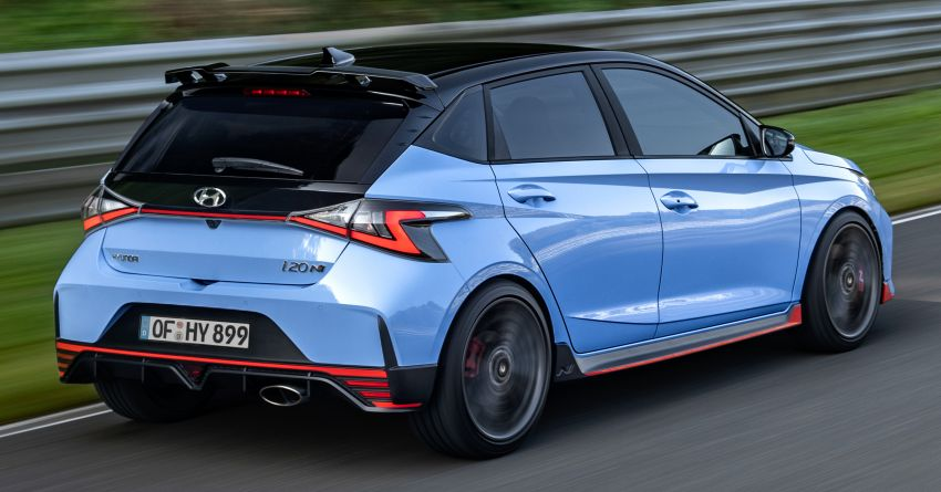 2021 Hyundai i20 N debuts – 1.6L T-GDi, 204 PS, 275 Nm; 6-speed manual with Launch Control & rev match Image #1195973