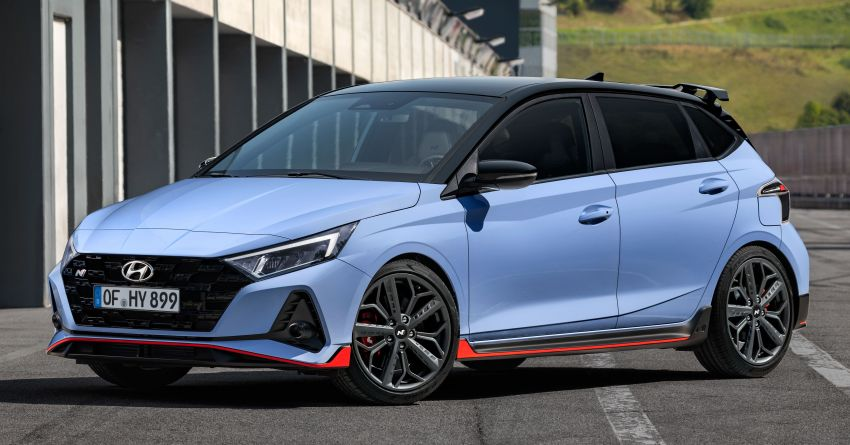 2021 Hyundai i20 N debuts – 1.6L T-GDi, 204 PS, 275 Nm; 6-speed manual with Launch Control & rev match Image #1195974