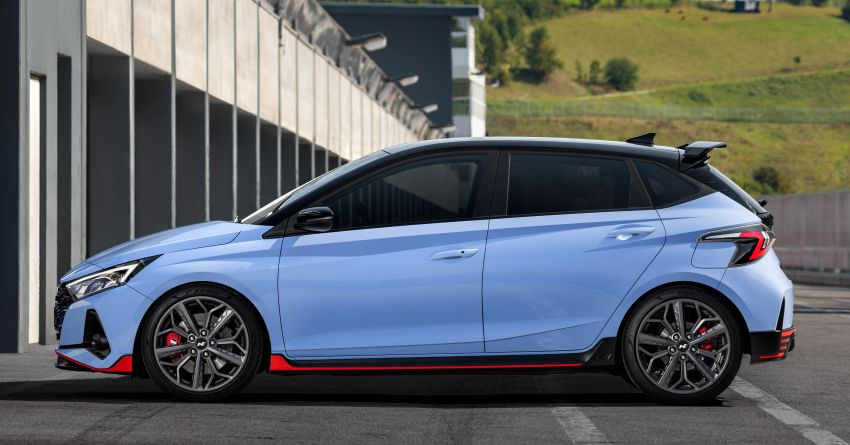 2021 Hyundai i20 N debuts – 1.6L T-GDi, 204 PS, 275 Nm; 6-speed manual with Launch Control & rev match Image #1195976