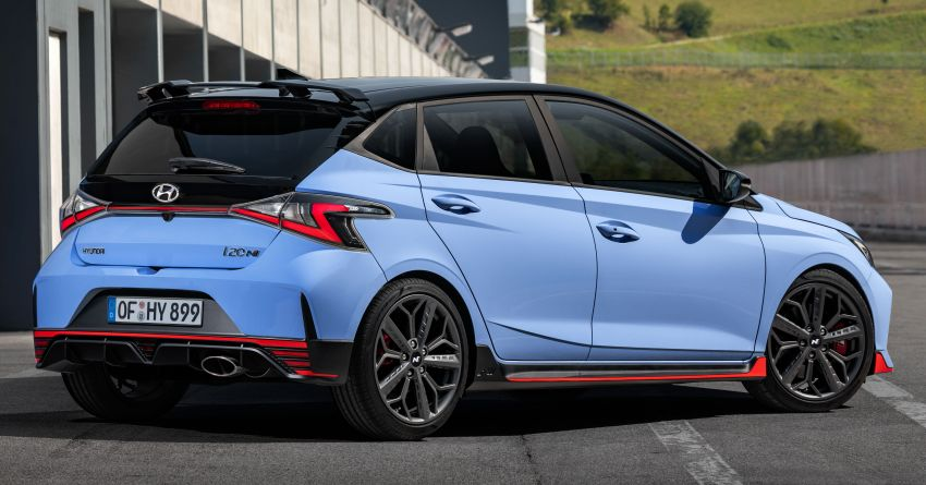 2021 Hyundai i20 N debuts – 1.6L T-GDi, 204 PS, 275 Nm; 6-speed manual with Launch Control & rev match Image #1195977