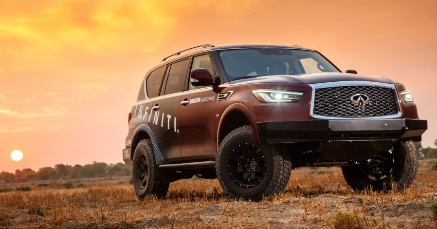 Infiniti enters 2020 Rebelle Rally with modified QX80 Image #1190797