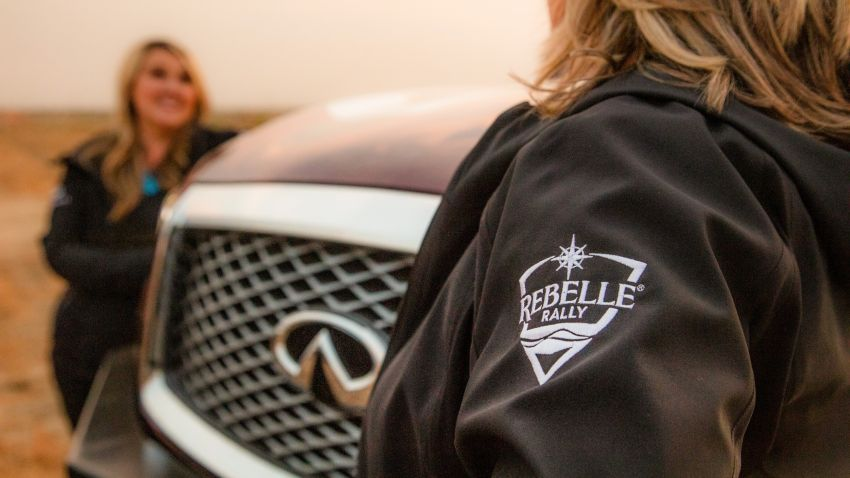 Infiniti enters 2020 Rebelle Rally with modified QX80 Image #1190796