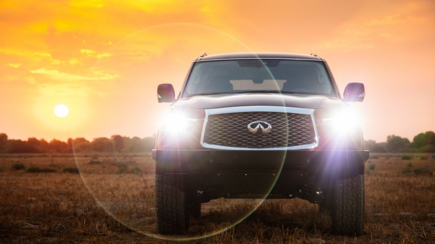Infiniti enters 2020 Rebelle Rally with modified QX80 Image #1190794