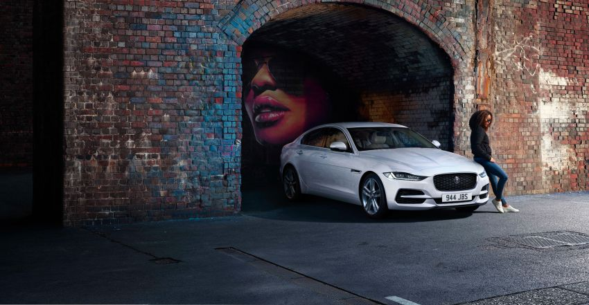 jaguar xe 2021 dapat enjin mhev 204 ps baharu 2021 jaguar