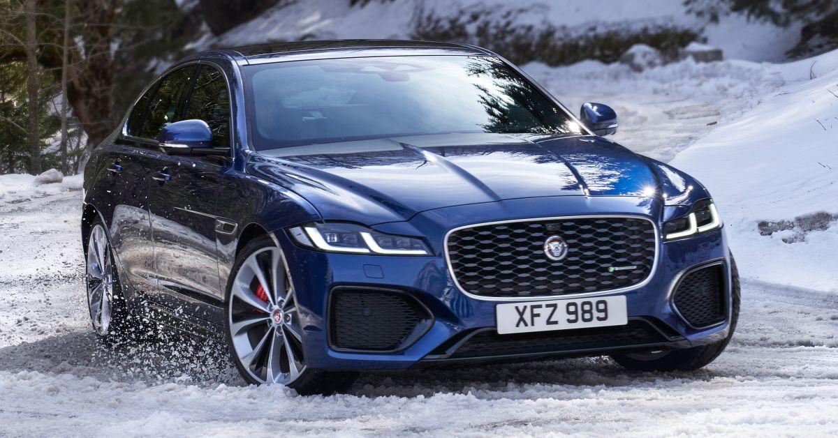 2021 Jaguar XF facelift debuts - new 2.0L mild-hybrid ...